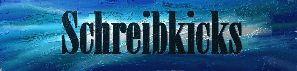 Schreibkicks blau