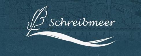 Schreibmeer Logo blau